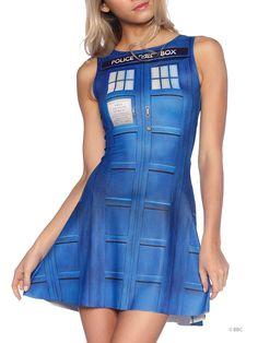 Tardis Play Dress
