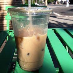 cafe de leche - horchata con espresso