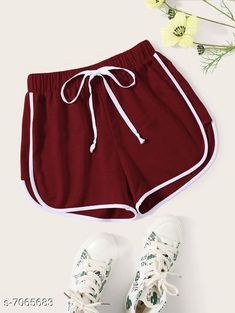 Shorts Vivient Women Maroon Hosery Short Fabric: Cotton Pattern: Solid Multipack: 1 Sizes:  24 (Waist Size: 24 in Length Size: 12 in Hip Size: 16 in)  26 (Waist Size: 26 in Length Size: 13 in Hip Size: 18 in)  28 (Waist Size: 28 in Length Size: 14 in Hip Size: 20 in)  30 (Waist Size: 30 in Length Size: 15 in Hip Size: 22 in) Country of Origin: India Sizes Available: 24, 26, 28, 30   Catalog Rating: ★4.1 (1341)  Catalog Name: Stylish Unique Women Shorts CatalogID_1127425 C79-SC1038 Code: 542-7065683-996