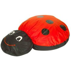 Ladybug Cuddle Up Pillow by Children's Factory Inc. $104.95. Children will love cuddling with this ladybug. It features liquid resistant outer zip-off cover and polyurethane stain resistant inner covers. Meets California fire retardant standards.