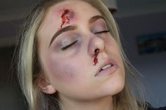 El Willmer: Special FX: Bruises and Bullet Wound // http://elwillmer.blogspot.co.uk/2015/10/special-fx-bruises-and-bullet-wound.html?m=1 #bloggers #bbloggers #makeup