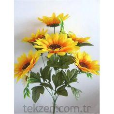 Yapay Çiçek Ay Çiçeği Buket -1907008