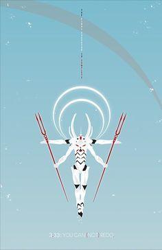 Neon Genesis Evangelion - The Final Executor Art Print by mnmstudios Neon Genesis Evangelion, Rei Ayanami, All Anime, Anime Art, Framed Prints, Canvas Prints, Art Prints, Evangelion Tattoo, Mecha Anime