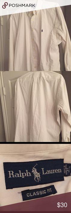 Classic Men's Polo Dress shirt Classic Men's Polo Dress shirt. Classic Fit. Great condition. Ralph Lauren Shirts Dress Shirts
