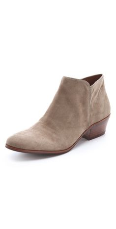 Suede Booties / Sam Edelman