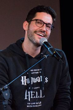 #savelucifer His hoodie got even better! (Thought it just said I Never Got My Hogwarts Letter)
