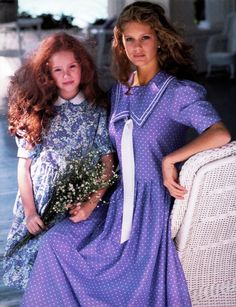 Laura Ashley vintage dresses from the Spring 1988 catalog.