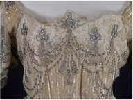 Russian Court gown. The detailed beadwork is amazing.