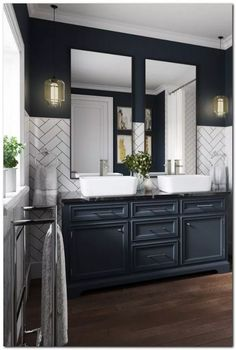 Bathroom decor for your master bathroom renovation. Discover bathroom organization, master bathroom decor a few ideas, master bathroom tile suggestions, bathroom paint colors, and much more. Bathroom Renos, Bathroom Renovations, Bathroom Ideas, Bathroom Organization, Master Bathrooms, Remodel Bathroom, Bathroom Storage, Bathroom Designs, Bathroom Makeovers