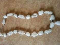 Semi Precious Stone Necklace and Bracelet Set  by TrulyQuirkyMe, £18.00