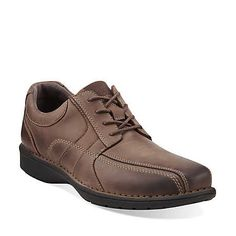 Sektor 4 Eye in Brown Leather - Mens Shoes from Clarks