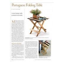 Portuguese Folding Table