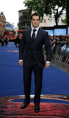 Henry Cavill - Man of Steel Premiere