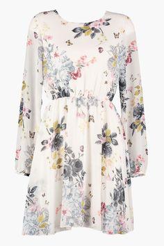 Kjole Celina Butterfly Offwhite fra Floyd by Smith Celine, Off White, Floral Tops, Butterfly, Women, Fashion, Moda, Women's, Fashion Styles