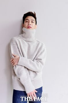 """Jota from The Fact's photoshoot "" Cool Kidz, Hot Asian Men, Korean Wave, Lee Jong, Buffy, Boy Groups, Kdrama, Fangirl, Turtle Neck"