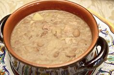 Jota triestina (Beans and Sauerkraut Soup from Trieste)