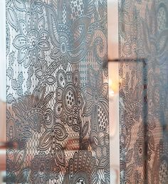 DAISY Metal Panel Collection, stainless steel curtain panel by N.O.W. Edizioni