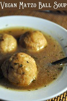 Meatless Monday with #Vegan Matzo Ball Soup http://www.miratelinc.com/blog/meatless-monday-with-vegan-matzo-ball-soup/