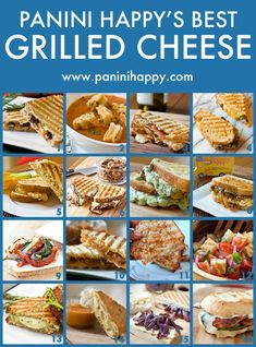 Panini Happy's Best Grilled Cheese Recipes