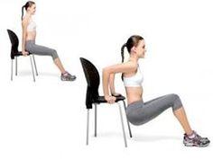 Exercite os seus tríceps