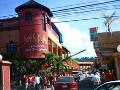 Shopping mall in Ocho Rios, Jamaica http://www.fandctravel.com/jamaica-vacation/