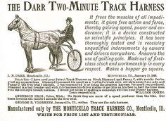 Darr Two Minute Track  Harness Digital Art