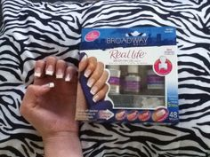 This nail kit gives you salon nails fast and simple! It works great! Only $10.00 for 48 nail tips! These nails soak off faster than acrylics and glue on nails! 3 easy steps: apply self tab tip, brush on gel, brush on activator. Works great!