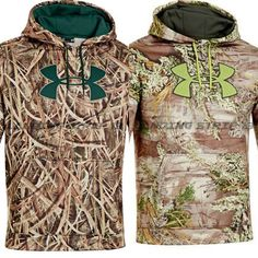 83dfa9f3c7566 Under Armour Men's UA HUNTING Big Logo Camo Hoodie Mossy Oak or Realtree  Max-1 #UnderArmour #Hoodie