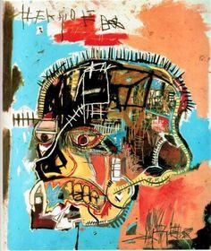 Untitled (Skull) – Jean-Michel Basquiat