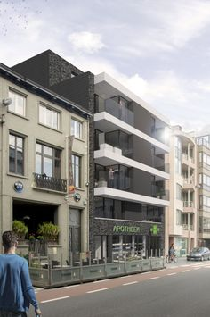 Inrichting appartementen Grote Markt - Sint-Niklaas - Lievois