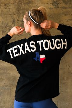 The only place to get an Authentic Texas Tough - Classic Spirit Jersey®