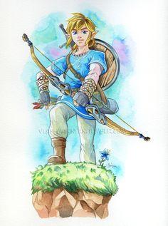 by vlad-wakinyan (The Legend of Zelda: Breath of the Wild) #Zelda #Nintendo #fanart