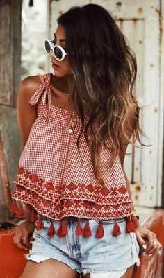 Cute Summer Outfits For Women And Teen Girls Casual Simple Summer Fashion Ideas. Clothes for summer. Summer Styles ideas Trending in Cute Summer Outfits, Trendy Outfits, Cute Outfits, Fashion Outfits, Style Fashion, Fashion Ideas, Casual Summer, Fashion Clothes, Summer Ootd