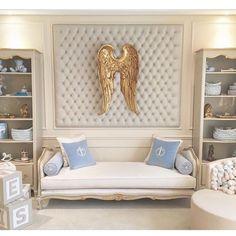 Mais um ângulo deste quarto dos sonhos, projetado pela @paula_abbud