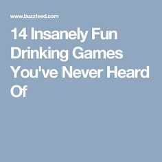 14 Insanely Fun Drinking Games You've Never Heard Of Just Give Up, Just In Case, 21st Birthday Games, Birthday Ideas, Game Night Food, Party On Garth, Fun Outdoor Games, Fun Games, Fun Drinking Games