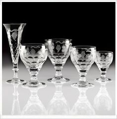 Crystal Bowls, Barware, Wine & Champagne Glasses by William Yeoward Crystal How To Make Crystals, Crystal Stemware, Champagne Glasses, Honeycomb, Tablescapes, Crystal Making, Barware, Old Things, Wine