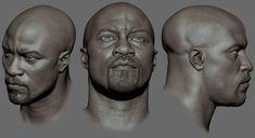 #Head study #speed sculpt #sketch, Gurjeet singh on ArtStation at https://www.artstation.com/artwork/NbNAq