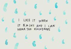 rain quote | Tumblr