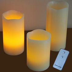 Verdi 3 x Battery Operated Remote Controlled Flameless Wax Candles Multi Colour LED Verdi http://www.amazon.co.uk/dp/B00T1KYSCQ/ref=cm_sw_r_pi_dp_FOHZub1KQA3B6