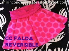 mi rincón de mariposas: CC Falda reversible: patrón