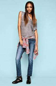 Topshop Shirt, Tee & Jeans  available at #Nordstrom