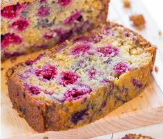 Raspberry Bread - Imagine how good and welcoming your home will smell with this baking. Mmmmm.