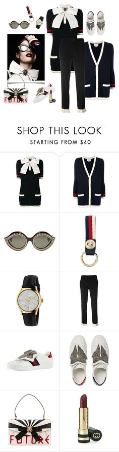 """""""The future is..."""" by juliabachmann ❤ liked on Polyvore featuring Gucci"""