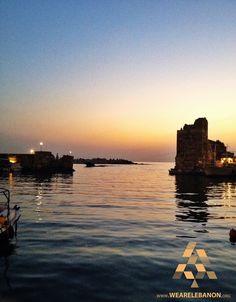 Relaxing sunset view at #Byblos منظر مريح للغروب في #جبيل By Nicole Elia  #WeAreLebanon #Lebanon