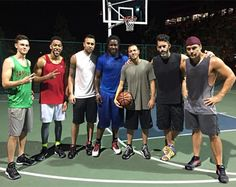 Eddie Lacy Playing Ball with Dane Cook -- Here's your latest Eddie Lacy sighting. Lacy was playing basketball with comedian Dane Cook in Los Angeles. That doesn't seem like a great idea.