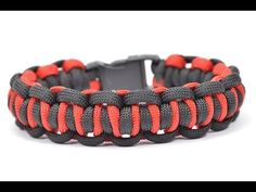 "Make the ""Easy Peasy"" Design - Paracord Survival Bracelet - BoredParacord.com - YouTube"