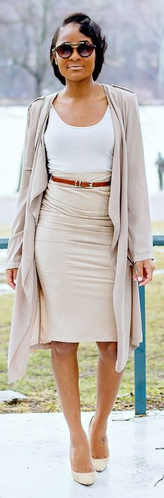 Shades Of Nude Inspiration Outfit by The Daileigh