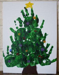 Albero di Natale fai da te per bambini (Foto 34/40) | PourFemme