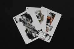 Pr1me (Prime) NOIR playing cards designed in Italy