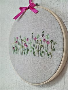 Beautiful embroidery by Kawaii Sakura Handmade